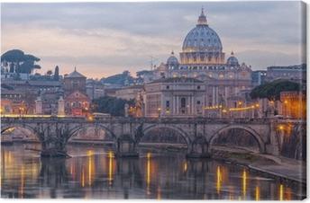 Cuadro en Lienzo Roma Basílica de San Pedro 01