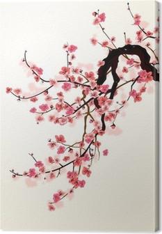 Cuadro en Lienzo Sakura