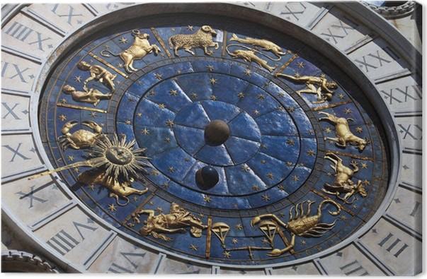 Cuadro en Lienzo San Marco relojes plaza Venecia, Italia • Pixers ...