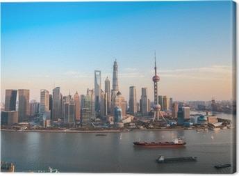 Cuadro en Lienzo Shangai Lujiazui vista panorámica