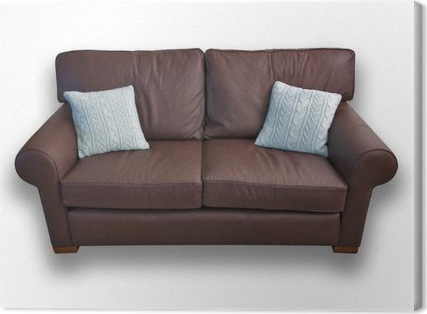 Cojines para sofa marron muebles de saln colores sofa cuero marron ideas with cojines para sofa - Sofa marron de que color las paredes ...