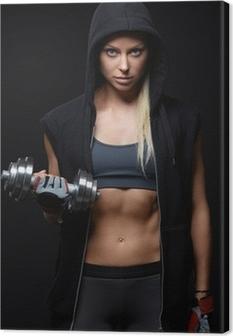 Cuadro en Lienzo Sportswoman