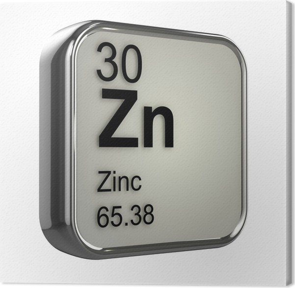 Cuadro en lienzo tabla peridica 3d 30 zinc pixers vivimos cuadro en lienzo tabla peridica 3d 30 zinc urtaz Images