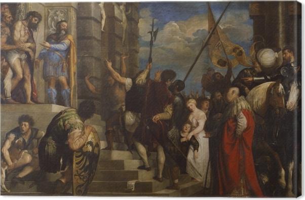 Cuadro en Lienzo Tiziano - Ecce Homo - Reproducciones