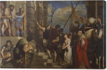 Cuadro en Lienzo Tiziano - Ecce Homo