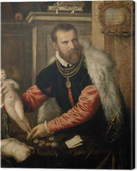 Cuadro en Lienzo Tiziano - Jacopo Strada - Reproducciones