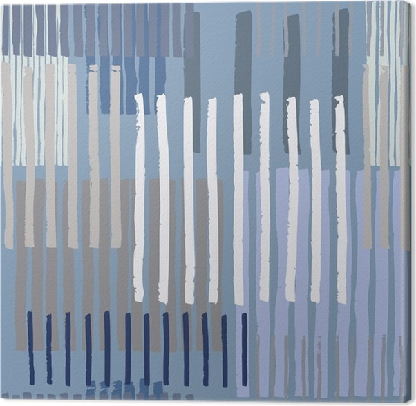 Cuadro en Lienzo Transparente patrón de rayas geométrica. Dibujado a ...