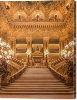 Cuadro en Lienzo Treppenhaus in der Oper