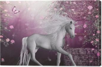 Cuadro en Lienzo Último unicornio