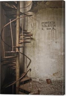 Cuadro en Lienzo Vieja escalera de hierro