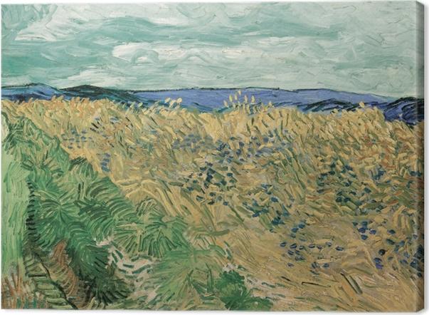 Cuadro en Lienzo Vincent van Gogh - Campo de trigo con Cornflowers - Reproductions