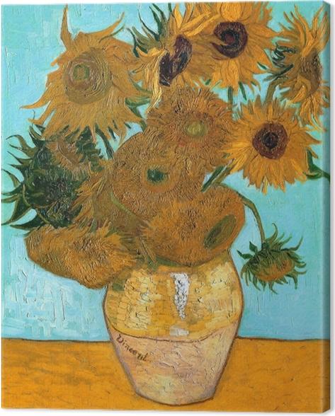 Cuadro en Lienzo Vincent van Gogh - Girasoles - Reproductions