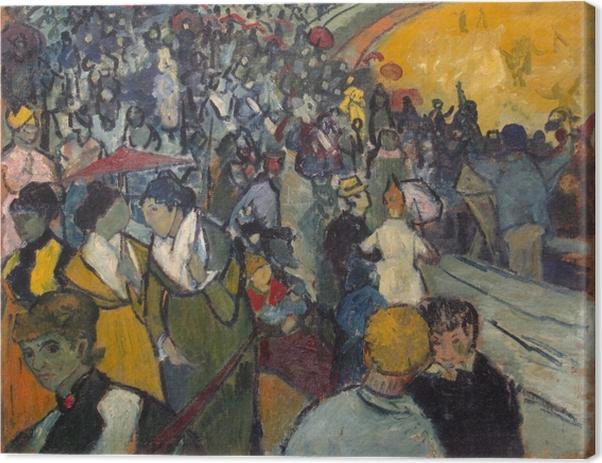 Cuadro en Lienzo Vincent van Gogh - La Arena en Arles - Reproductions