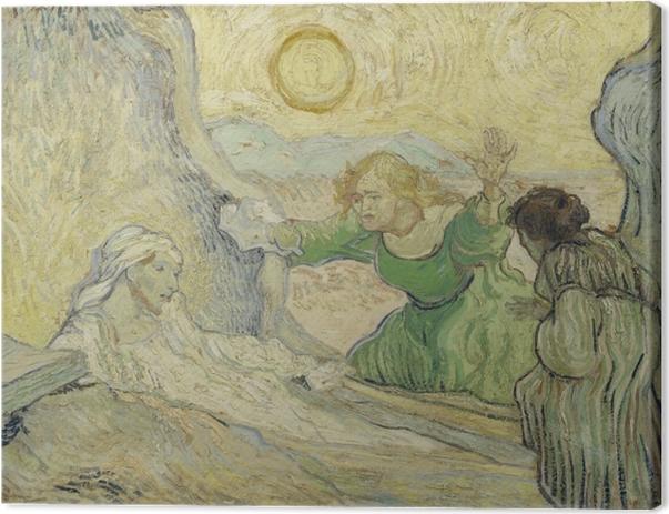 Cuadro en Lienzo Vincent van Gogh - La resurrección de Lázaro - Reproductions