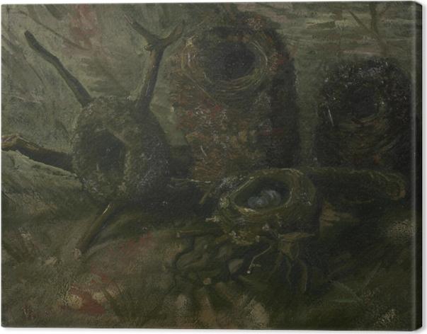 Cuadro en Lienzo Vincent van Gogh - Nidos de pájaros - Reproductions