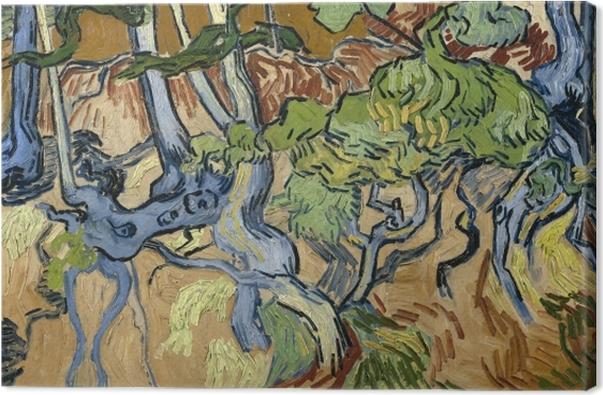 Cuadro en Lienzo Vincent van Gogh - Raíces de árbol - Reproductions