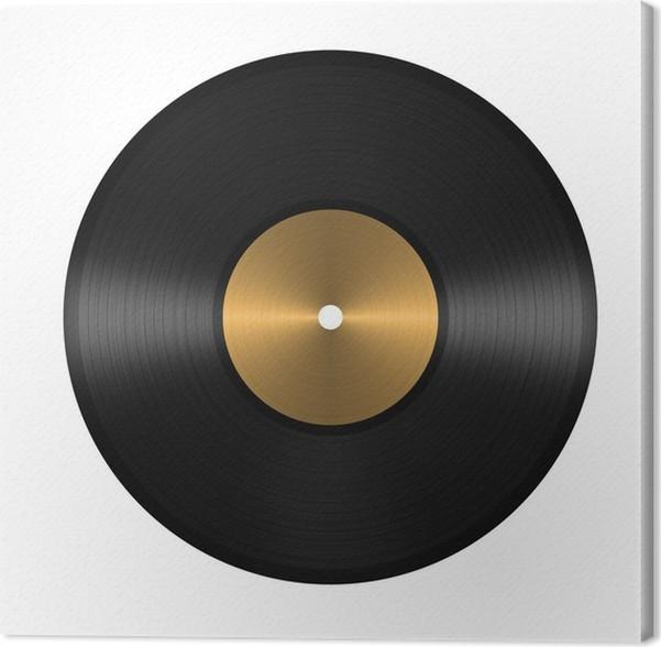 Cuadro en Lienzo Vinyl record • Pixers® - Vivimos para cambiar