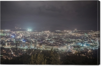 Cuadro en Lienzo Vista de la ciudad de Bilbao, España