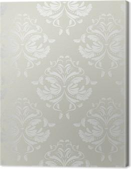 Cuadro en Lienzo Wallpaper.damask de fondo sin fisuras pattern.floral