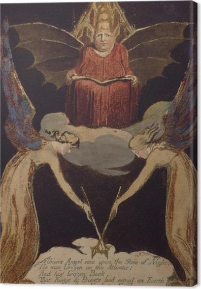 Cuadro en Lienzo William Blake - Jerusalén - Reproducciones
