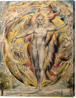 Cuadro en Lienzo William Blake - Moisés