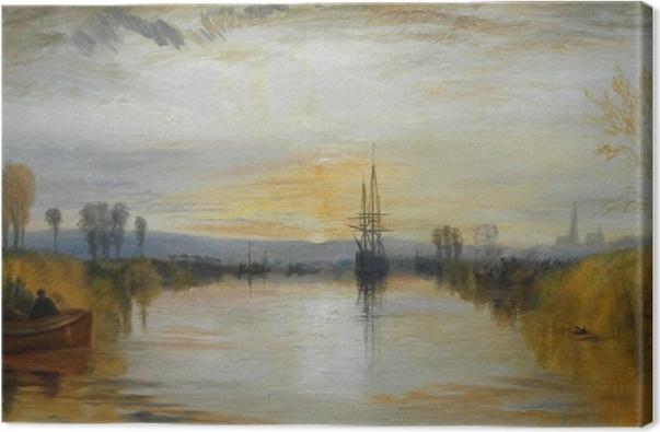 Cuadro en Lienzo William Turner - Canal de Chichester - Reproducciones