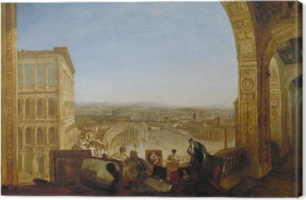 Cuadro en Lienzo William Turner - Roma desde el Vaticano - Reproducciones