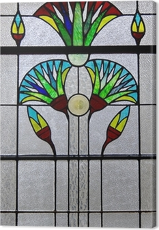 Cuadro en Lienzo Window Art Deco