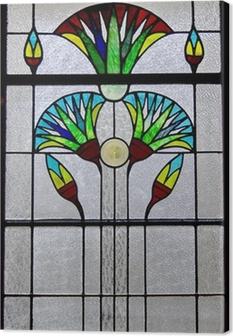 Cuadro en Lienzo Window Art Deco