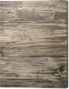 Cuadro en Lienzo Wooden texture
