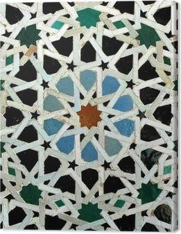 Cuadro en Lienzo Zelliges (Fez, Marruecos)