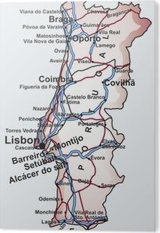 Mapa De Carreteras Portugal.Mapa De Carreteras De Portugal