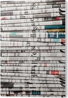 Cuadro en PVC Periódicos