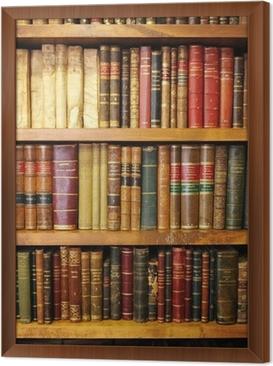 Cuadro Enmarcado Libros antiguos, biblioteca