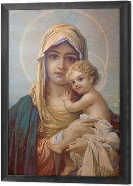Cuadro Enmarcado Madonna - Madre de Dios