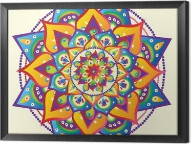 Cuadro Enmarcado Mandala