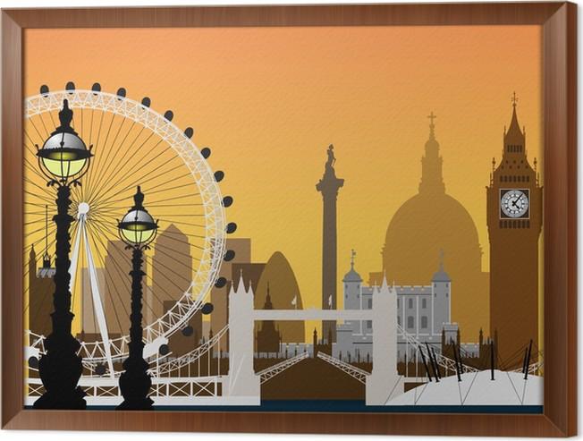 Increíble Londres Enmarcado Fotos Foto - Ideas de Arte Enmarcado ...