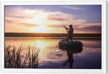 Cuadro Enmarcado Pescador