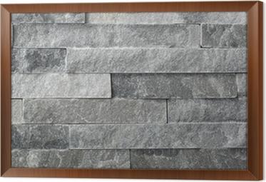 cuadro enmarcado piedra natural de granito piezas azulejos para paredes - Paredes De Piedra Natural
