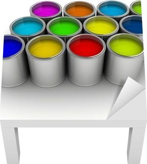 Canvastavla Färgburkar • Pixers® - Vi lever för förändring a7ca9f5b00a0f