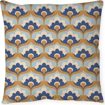 Dekorační polštář Bezešvé vintage květinový vzor