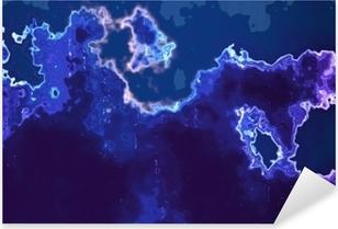 Pixerstick Dekor Abstrakt bakgrund som simulerar akryl eller flytande färger