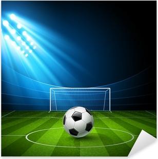 Poster Fotbollsarena och detaljerad tribunen med teckning. Vector. • Pixers®  - Vi lever för förändring caf1518ed3072