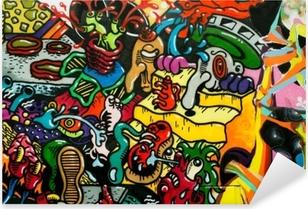 Pixerstick Dekor Graffiti art urbain