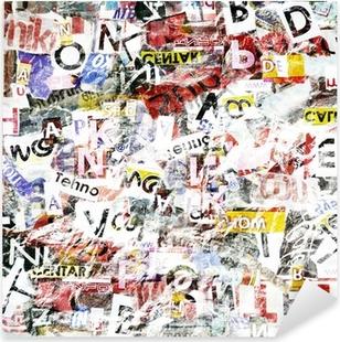 Pixerstick Dekor Grunge texturerad bakgrund
