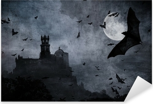 Pixerstick Dekor Halloween bakgrund