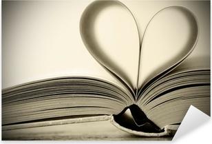 Pixerstick Dekor Hjärtformade bok