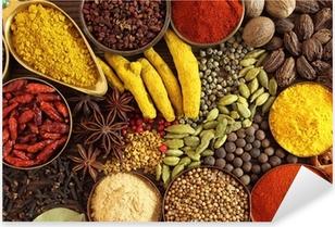 Pixerstick Dekor Indiska kryddor