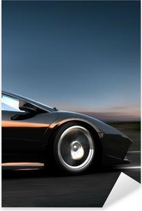 Pixerstick Dekor Italiensk sportbil
