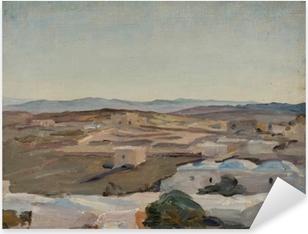 Pixerstick Dekor Jan Ciągliński - Ramallah vlakbij Jeruzalem. Van de reis naar Palestina